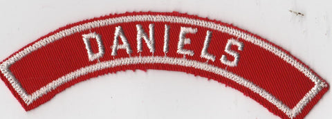 DANIELS RWS Red & White Community Strip (sewn)