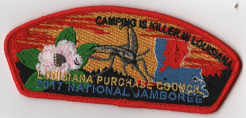 2017 National Scout Jamboree Louisiana Purchase Council Mosquito JSP [C3158] - Scout Patch HQ