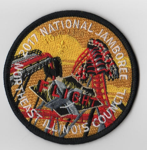 2017 National Scout Jamboree Northeast Illinois  Flight [FB238b]