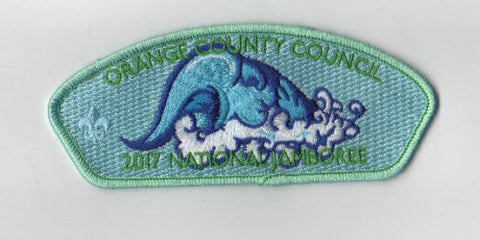 2017 National Scout Jamboree Orange County  Light Green JSP [FB226]