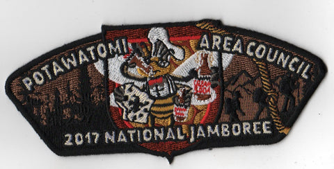 2017 National Scout Jamboree Potawatomi Area  Bee JSP [FB219]
