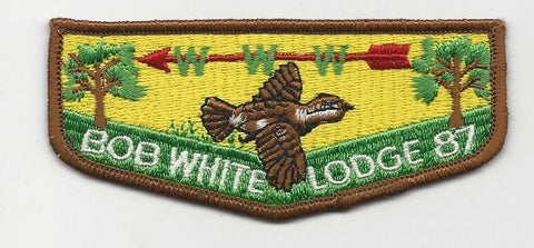 OA Lodge Bob White 87 S1 First Solid Georgia-Carolina Council [SMV101]