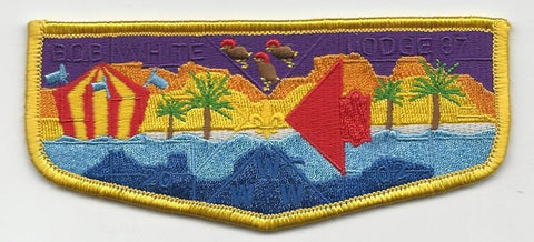 OA Lodge Bob White 87 S15 2002 Dixie Fellowship Flap Georgia-Carolina Council [SMV116]