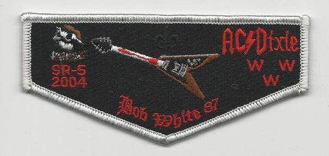OA Lodge Bob White 87 S23 Flap 2004 Dixie Fellowship Georgia-Carolina Council [SMV122]