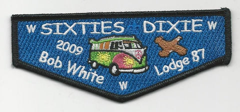 OA Lodge Bob White 87 S40 Flap 2009 Dixie Fellowship Georgia-Carolina Council [SMV126]