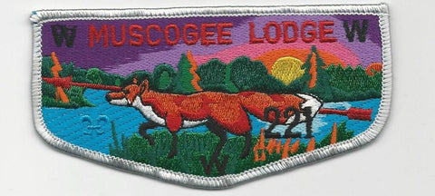 OA Lodge 221 Muscogee S19b Flap Indian Waters Council [SMV530]