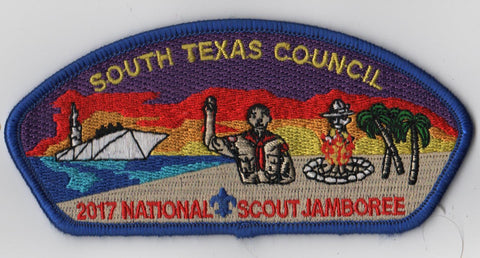 2017 National Scout Jamboree South Texas  Blue Bdr. JSP [FB250]