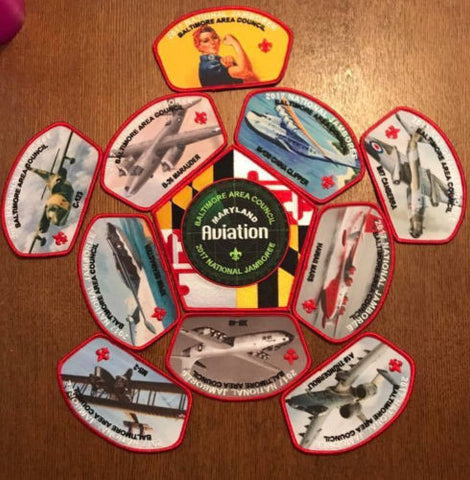 2017 National Scout Jamboree Baltimore Area Council JSP Set 11 Pcs. [C3144] - Scout Patch HQ