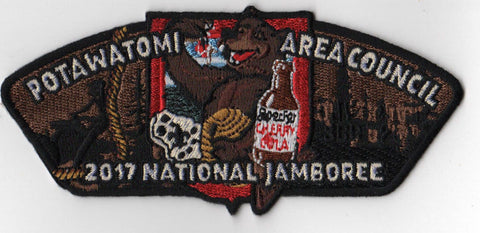 2017 National Scout Jamboree Potawatomi Area  Bear JSP [FB220]