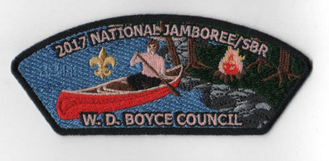 2017 National Scout Jamboree W. D. Boyce  Canoe ORG JSP [FB212]