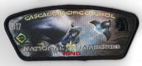 2017 National Scout Jamboree Cascade Pacific JSP HALO 'Kind' Red [C3173] - Scout Patch HQ