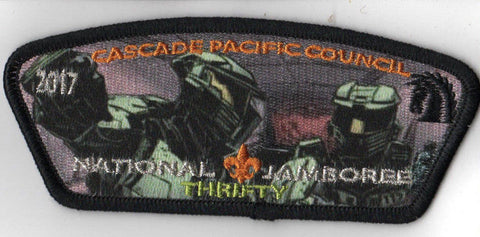 2017 National Scout Jamboree Cascade Pacific JSP HALO 'Thrifty' Green [C3177] - Scout Patch HQ