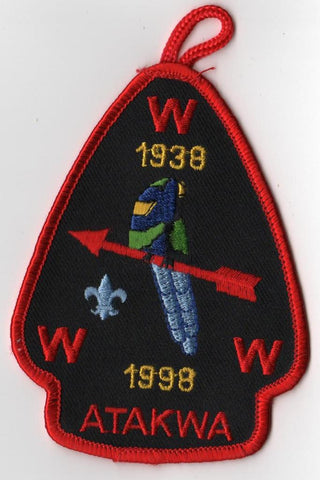 #116 Santee Lodge A1 Atakwa Chapter 1998 Issue - Scout Patch HQ