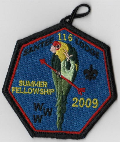 #116 Santee Lodge 2009 Summer Fellowship - Scout Patch HQ