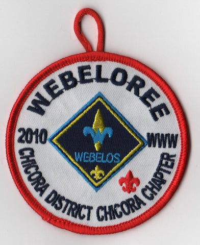 #116 Santee Lodge 2010 Chicora Chapter Weboloree - Scout Patch HQ