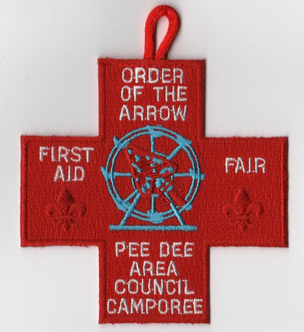 #116 Santee Lodge 2005 First Aid Fair Council Camporee - Scout Patch HQ