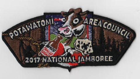 2017 National Scout Jamboree Potawatomi Area  JSP Cows [FB221]