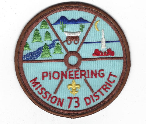 73 Pioneering Mission District BROWN Border [FBLTX-45]