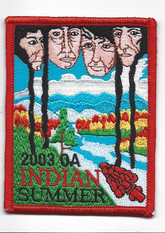 2003 National Order of the Arrow Indian Summer Patch