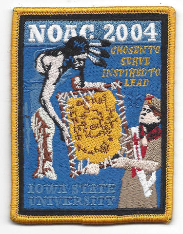 2004 National Order of the Arrow Conference NOAC Iowa State University Patch