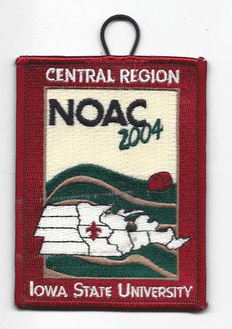 2004 National Order of the Arrow Conference NOAC Iowa State University Central Region Patch