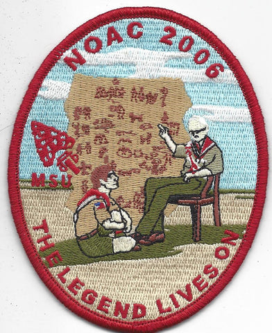 2006 National Order of the Arrow Conference NOAC Michigan State University Patch
