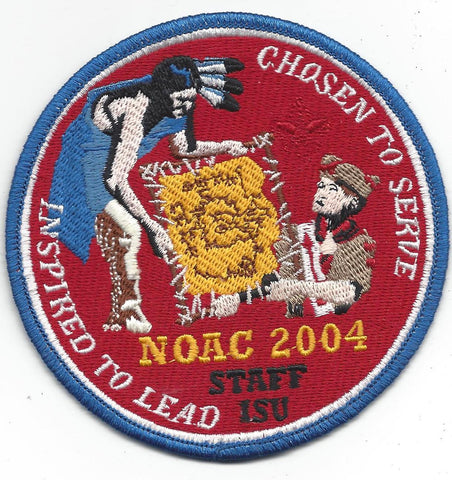 2004 National Order of the Arrow Conference NOAC Iowa State University STAFF Patch