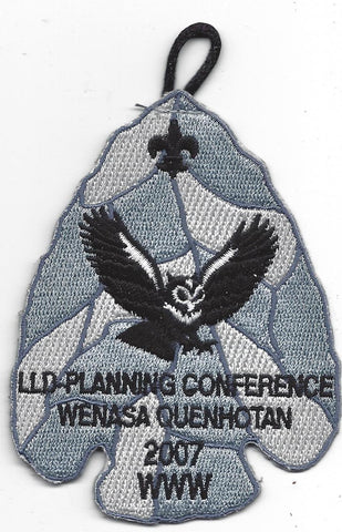 OA Lodge # 23 Wenasa Quenhotan LLD Planning Meeting Patch W. D. Boyce  [IL271]