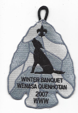 OA Lodge # 23 Wenasa Quenhotan Winter Banquet Patch W. D. Boyce  [IL272]