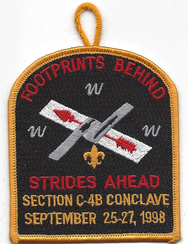 1988 Section C-4B Conclave Patch [IL282]