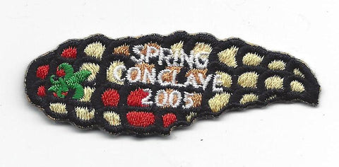 OA Lodge # 23 Wenasa Quenhotan 2005 Spring Conclave Patch W. D. Boyce Council