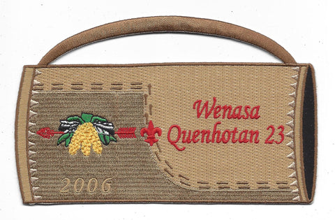 OA Lodge # 23 Wenasa Quenhotan 2006 Quiver Patch W. D. Boyce Council