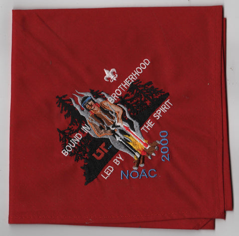 2000 National Order of the Arrow Conference Embroidered Neckerchief