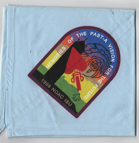 1998 National Order of the Arrow Conference Silk Screened Neckerchief