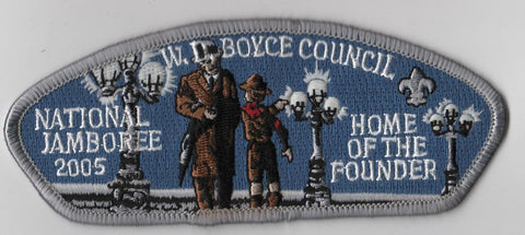 2005 National Scout Jamboree W. D. Boyce  JSP Patch [IL370]