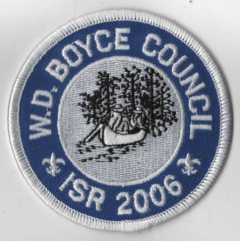 2006 Ingersoll Scout Reservation W. D. Boyce  White Border [IL423]