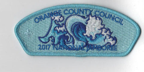 2017 National Scout Jamboree Orange County  Light Blue JSP [FB232]