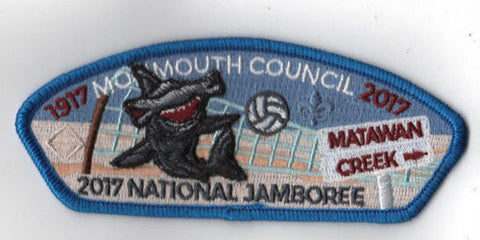 2017 National Scout Jamboree Monmouth  Volleyball Shark JSP [FB248]