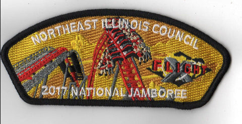 2017 National Scout Jamboree Northeast Illinois Council Blk Bdr JSP