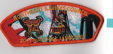 2017 National Scout Jamboree Northeast Illinois  ORG Bdr JSP [FB228]