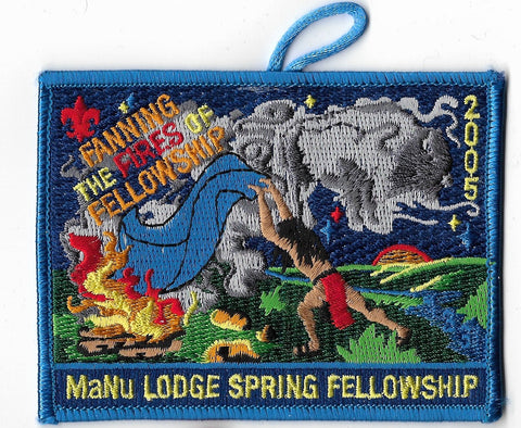 OA Lodge #133 Ma-Nu; 2015 Spring Fellowship