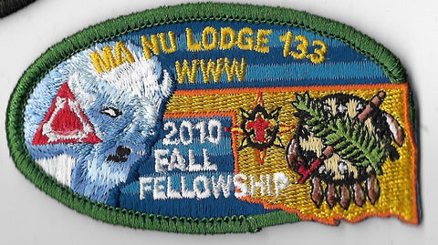 OA Lodge #133 Ma-Nu; 2010 Fall Fellowship; green [OAP1016]