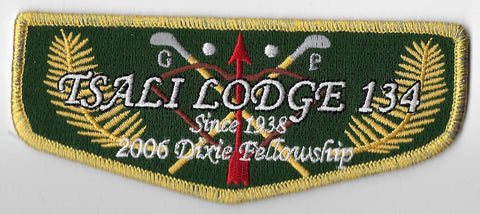OA Lodge #134 Tsali S-55 flap; 2006 Dixie Fellowship [OAP1026]
