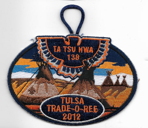 OA Lodge #138 Ta Tsu Hwa 2012 Trade-o-ree [OAP1105]