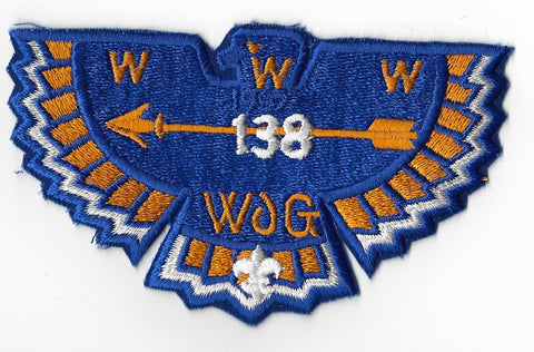 OA Lodge #138 Ta Tsu Hwa s-23 flap