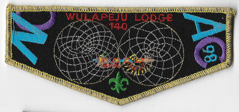 OA Lodge #140 Wulapeju s-30 flap; 1998 NOAC