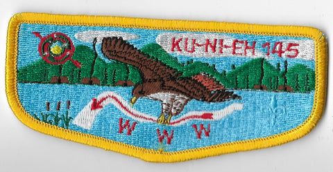 OA Lodge #145 Ku-Ni-Eh s-13 flap