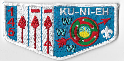 OA Lodge #145 Ku-Ni-Eh s-85 flap [OAP1136]