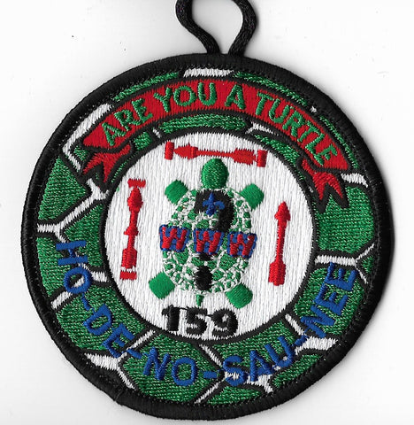 OA Lodge #159 Ho-De-No-Sau-Nee 2004 NOAC Fundraiser;Are You A Turtle