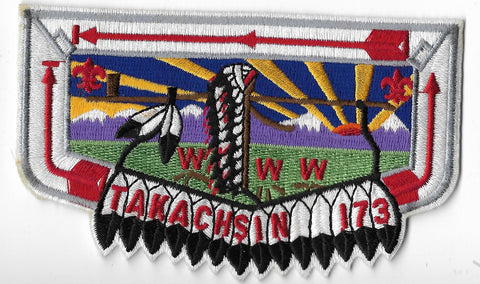 OA Lodge #173 Takachsin S-13a flap